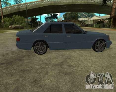 Mersedes-Benz E-500 Armenian для GTA San Andreas вид сбоку