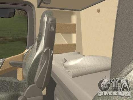Mercedes-Benz Actros Mp4 6x2 v2.0 Bigspace для GTA San Andreas вид снизу
