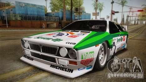Lancia Rally 037 Stradale (SE037) 1982 Dirt PJ3 для GTA San Andreas