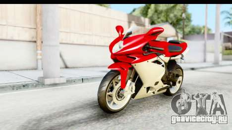 MV Agusta F4 для GTA San Andreas