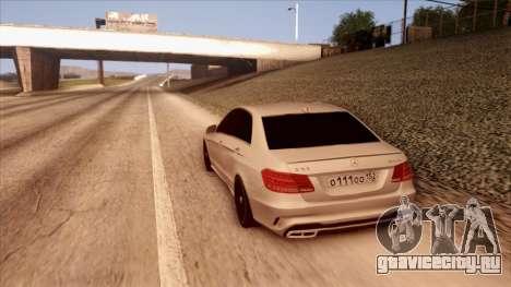 Mercedes-Benz Е63 для GTA San Andreas вид слева