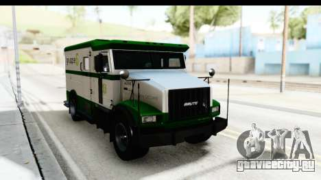GTA 5 Stockade v2 для GTA San Andreas вид справа