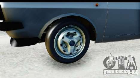 Dacia 1300 Sport Cabrio для GTA San Andreas вид сзади