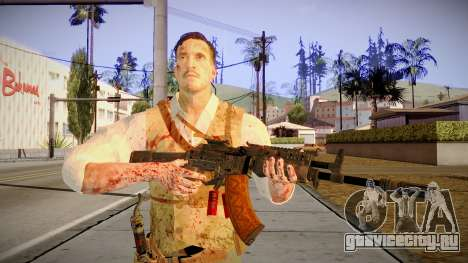 Black Ops 3 - Edward Richtofen для GTA San Andreas третий скриншот