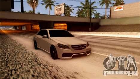 Mercedes-Benz Е63 для GTA San Andreas вид справа
