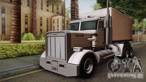 GTA 4 Flatbed для GTA San Andreas