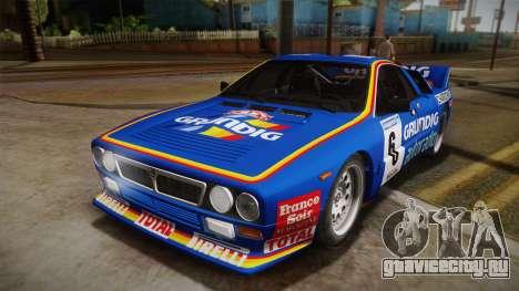 Lancia Rally 037 Stradale (SE037) 1982 Dirt PJ3 для GTA San Andreas вид справа