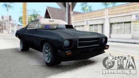 Holden Monaro 1972 Nightrider для GTA San Andreas вид справа