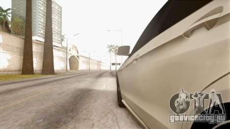 Mercedes-Benz E63 v.2 для GTA San Andreas вид снизу