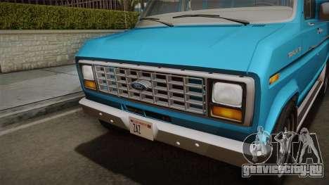Ford E-150 Commercial Van 1982 2.0 для GTA San Andreas вид справа