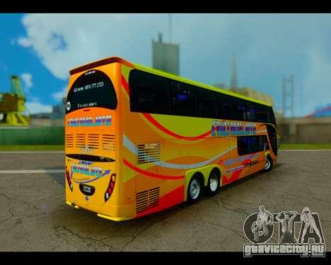 Metalsur Starbus II CRUCERO DEL NORTE для GTA San Andreas вид слева
