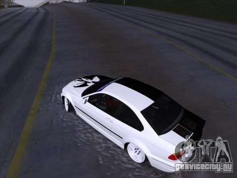 BMW E46 Good and Evil для GTA San Andreas вид сбоку