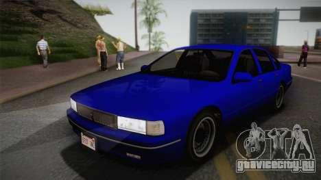 Declasse Premier 1992 IVF для GTA San Andreas