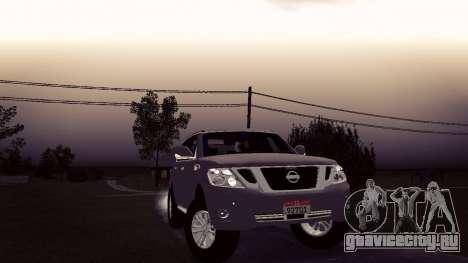 Nissan Patrol для GTA San Andreas