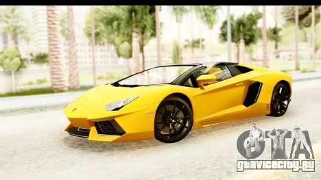 Lamborghini Aventador LP700-4 Roadster v2 для GTA San Andreas