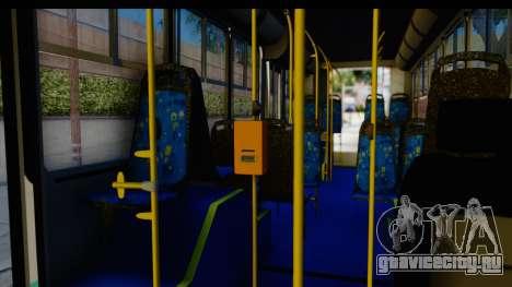 Metrobus de la Ciudad de Mexico для GTA San Andreas вид сзади