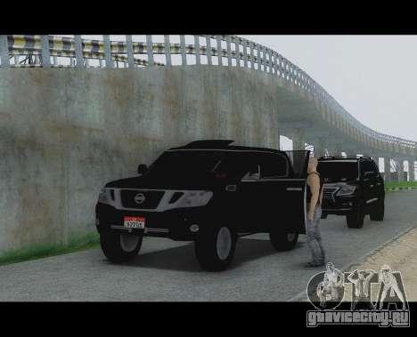 Nissan Patrol для GTA San Andreas вид сзади слева