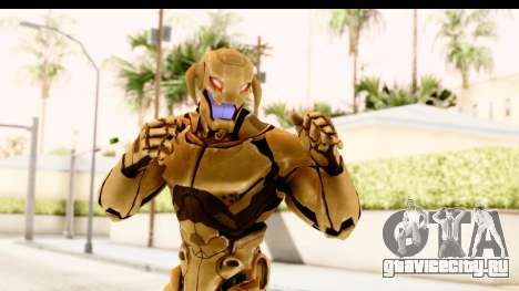 Marvel Heroes - Ultron Gold AoU для GTA San Andreas