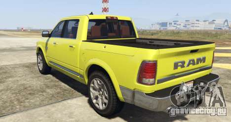 Dodge Ram Limited 2016 для GTA 5