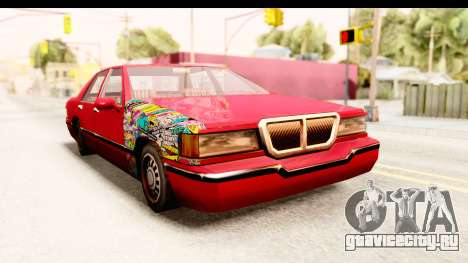Elegant Sticker Bomb для GTA San Andreas
