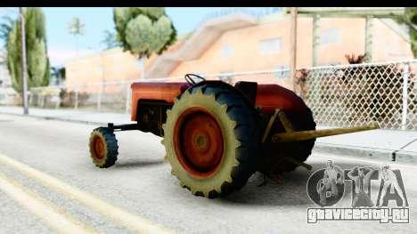 Fireflys Tractor для GTA San Andreas вид слева