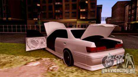 Toyota Mark II для GTA San Andreas вид сверху