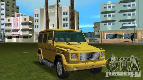 Mercedes-Benz G500 W463 2008 для GTA Vice City