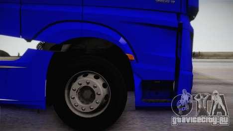 Mercedes-Benz Actros Mp4 6x4 v2.0 Gigaspace для GTA San Andreas вид справа