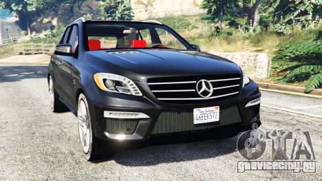 Mercedes-Benz ML63 AMG (W166) 2015 [replace] для GTA 5