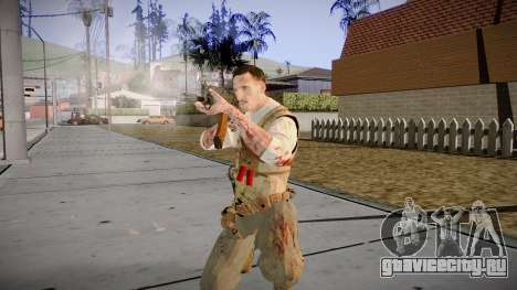 Black Ops 3 - Edward Richtofen для GTA San Andreas четвёртый скриншот