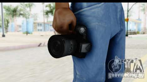 Nikon D600 для GTA San Andreas третий скриншот
