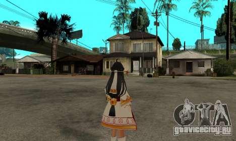 Ara Sakra Devanam (Elsword) для GTA San Andreas второй скриншот