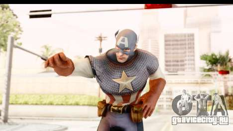 Marvel: Ultimate Alliance 2 - Captain America для GTA San Andreas