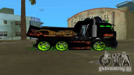 KAMAZ 65115 TUNING для GTA Vice City вид слева