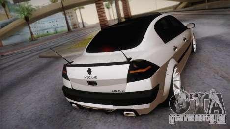 Renault Megan для GTA San Andreas вид слева