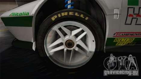 Lancia Stratos для GTA San Andreas вид изнутри