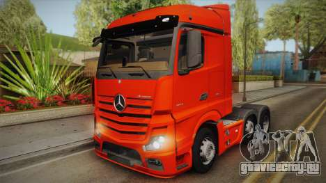 Mercedes-Benz Actros Mp4 6x2 v2.0 Steamspace v2 для GTA San Andreas