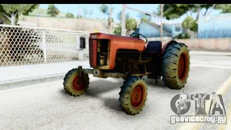 Fireflys Tractor для GTA San Andreas