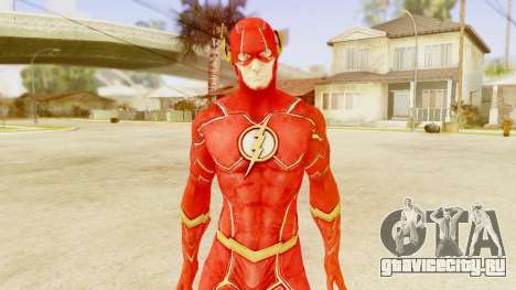 Injustice God Among Us Flash New 52 Edited Model для GTA San Andreas третий скриншот
