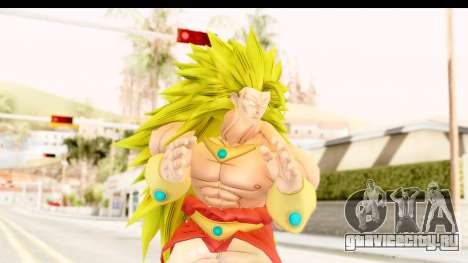 Dragon Ball Xenoverse Broly SSJ3 для GTA San Andreas