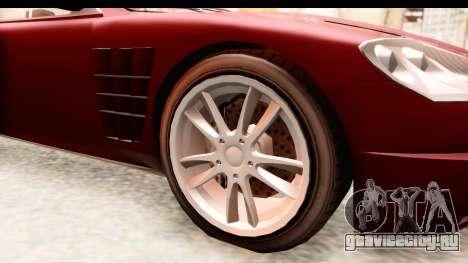 GTA EFLC TBoGT F620 v2 IVF для GTA San Andreas вид сзади