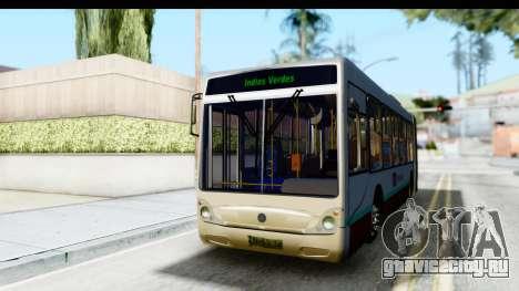 Metrobus de la Ciudad de Mexico для GTA San Andreas вид справа