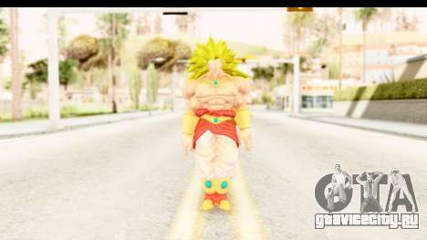 Dragon Ball Xenoverse Broly SSJ3 для GTA San Andreas второй скриншот