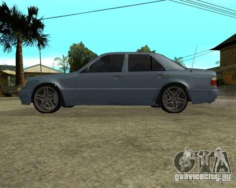 Mersedes-Benz E-500 Armenian для GTA San Andreas вид снизу