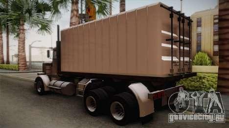 GTA 4 Flatbed для GTA San Andreas вид слева