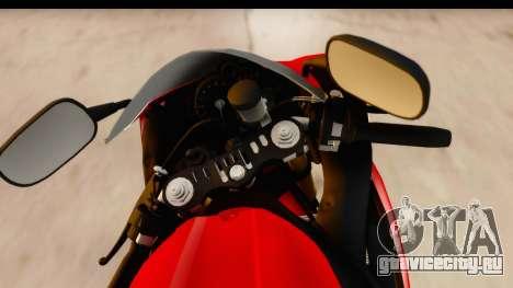 Yamaha R1 2014 для GTA San Andreas вид сзади