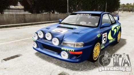 Subaru Rally WRC Impreza 98 v8 для GTA 4