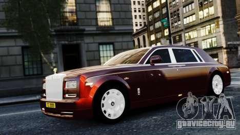 Rolls-Royce Phantom EWB 2013 для GTA 4 вид сзади