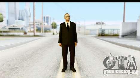 Will Smith MIB для GTA San Andreas второй скриншот