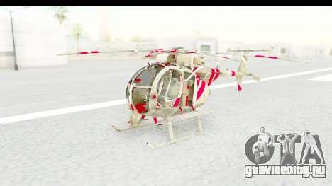 Smaga Sparrow Helis Military Version для GTA San Andreas вид справа